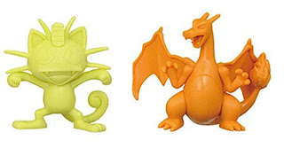 Charizard figure neutral color version in Takara Tomy Pokemon Crane Moncolle Catcher