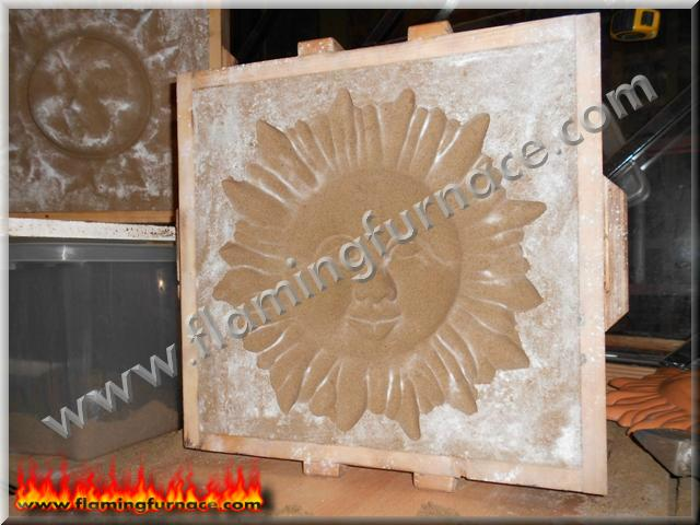 Green casting sand VS oil bonded sand ~ Metal casting projects