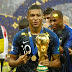 19 year old France's Kylian Mbappé, to donate his entire 2018 FIFA World Cup salary to charity