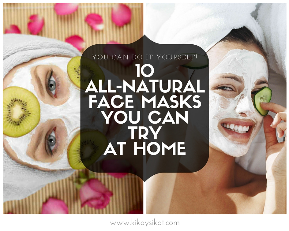 Diy 10 super easy all natural face masks top beauty lifestyle today ill be sharing with you 10 all natural face masks you can easily do at the comfort of your homes its so simple and easy to make each mask only solutioingenieria Choice Image