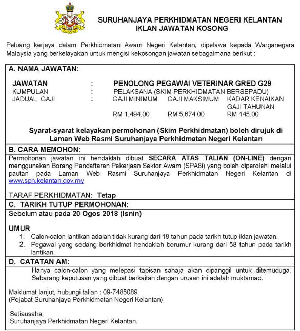 Suruhanjaya Perkhidmatan Awam Negeri Kelantan