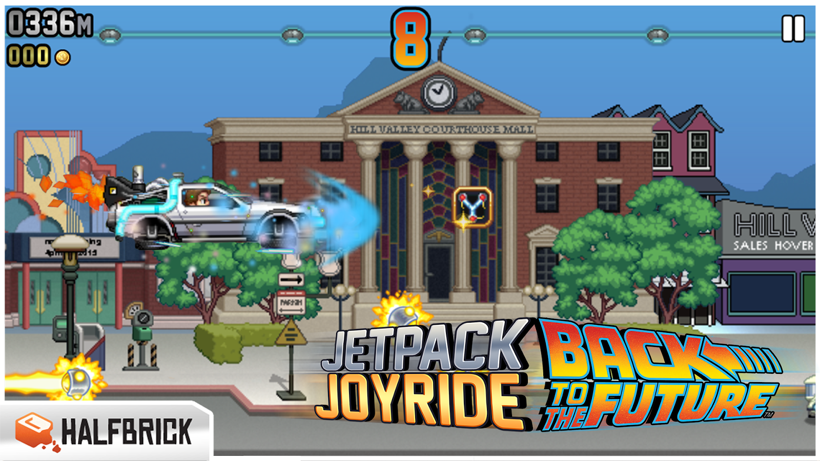 تحميل لعبة jetpack joyride مهكرة