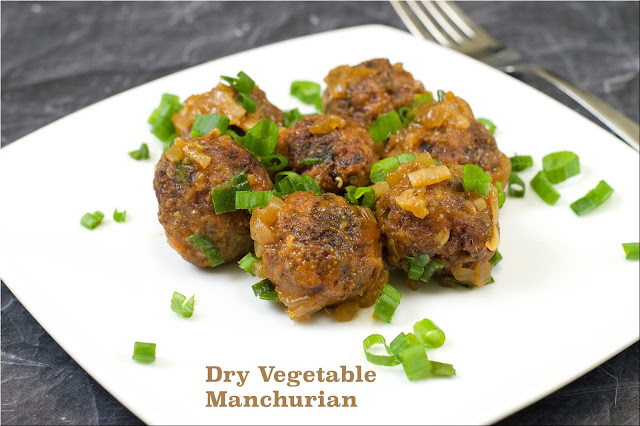 Vegetable Manchurian | Dry Veg Manchurian Recipe