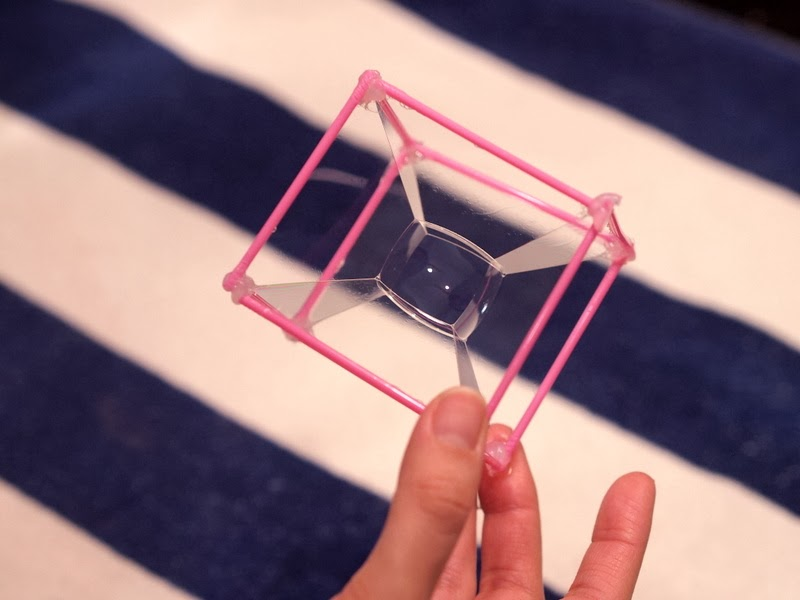 Make a cube bubble