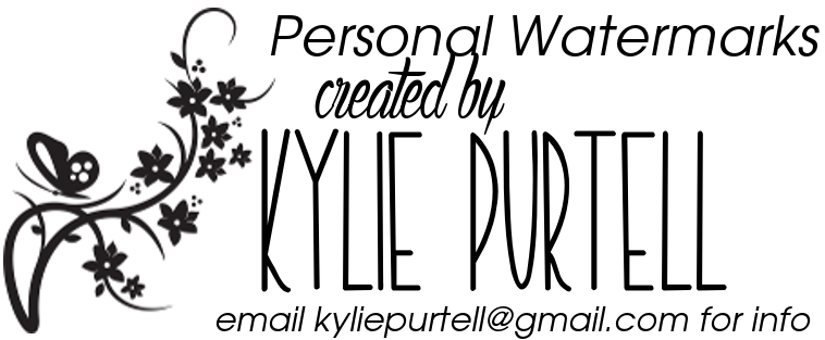 my watermark was designed by Kylie