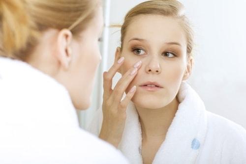 cách chăm sóc da mụn của người nhật