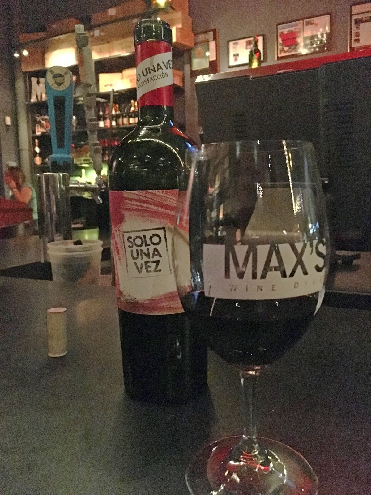 food and wine at Max's Wine Dive - a restaurant/bar in Fort Worth, Texas