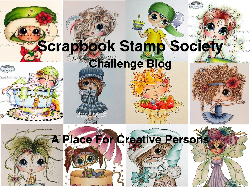 Scrapbook Stamp Society Challenge Blog