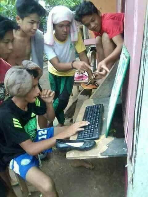 10 Potret Konyol Orang Indonesia Ini Bikin Ngakak Greget