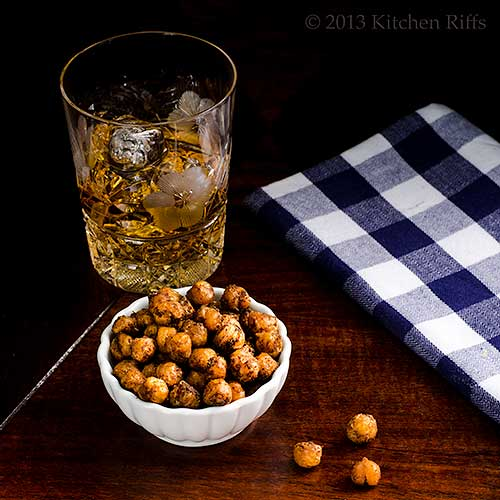 Spicy Roast Chickpeas