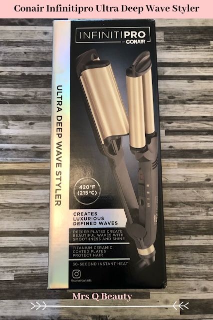 Conair InfinitiPro Ultra Deep Wave Styler Review