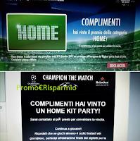 Foto Vince con ''Champion the Match'': Frigo + confezioni Heineken + catering