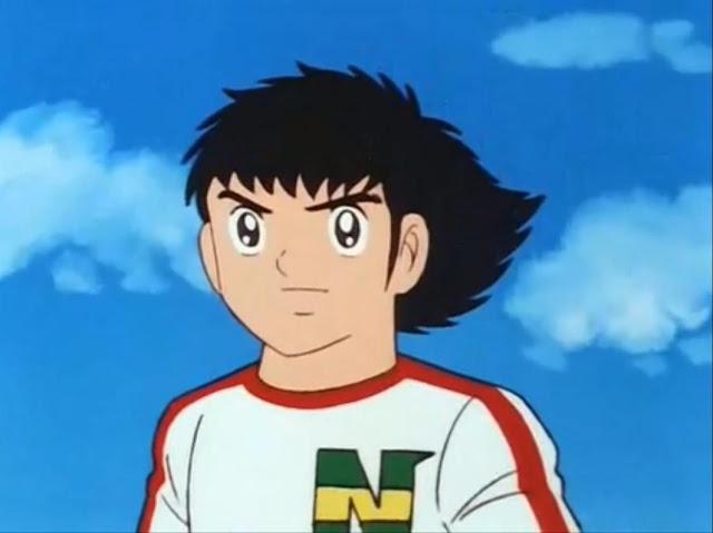 ... do Anime Capitão Falcão Tsubasa Oliver e Benji