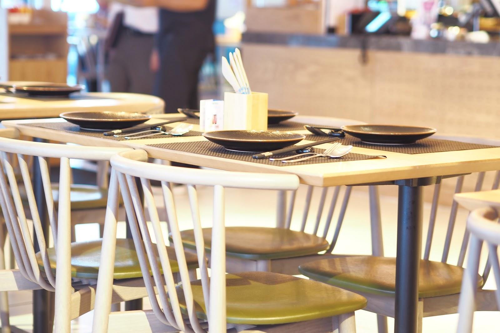 restaurant interiror
