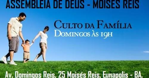 Pastor Renato Bromochenkel Convite Para O Culto Da Família