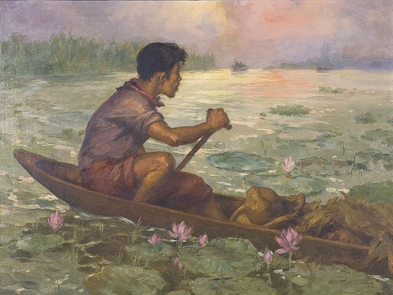 Fernando Amorsolo 1892-1972 | Filipino Genre and Historical painter