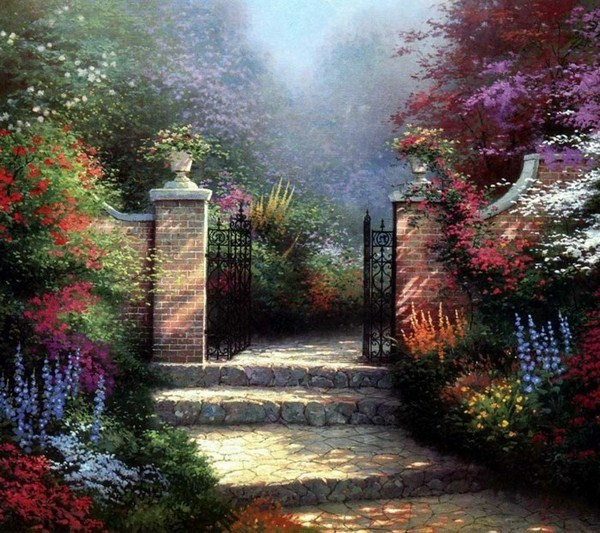 Build Beautiful Garden Gate Itself
