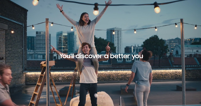 Samsung Launches New Wearables As Aids For Overall Wellbeing  In New Campaign By Cheil Worldwide