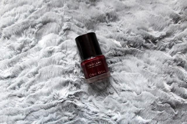 oriflame cosmetics nailpolish körömlakk lak za nokte deep plum