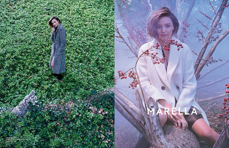 Miranda Kerr by Ryan McGinley for Marella Autumn/Winter 2016 Campaign