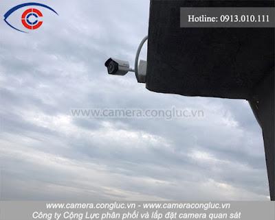 Hình ảnh camera quan sát do công ty Cộng Lực cung cấp và lắp đặt.