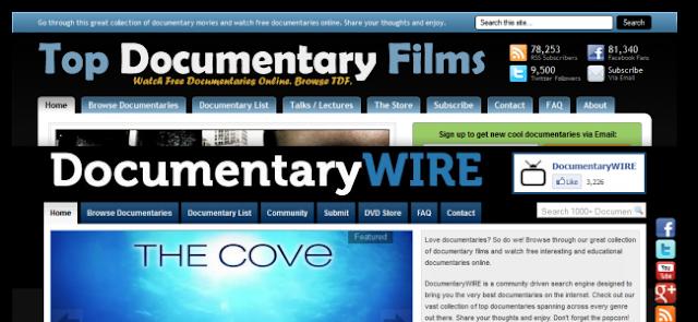 Situs terbaik untuk nonton film dokumenter secara online 10 Situs terbaik untuk nonton film dokumenter secara online