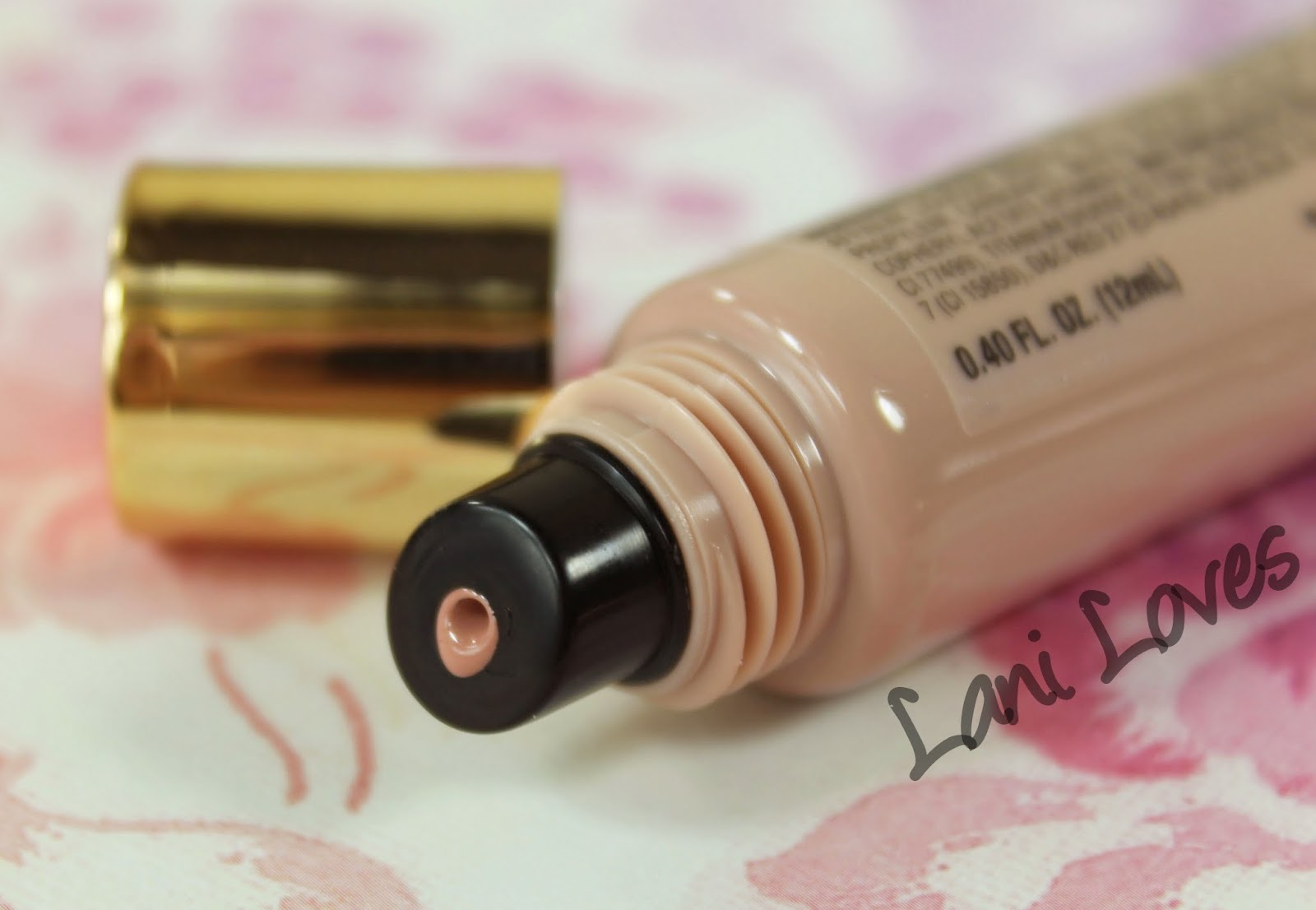 LA Girl Glazed Lip Paint - Whisper Swatches & Review