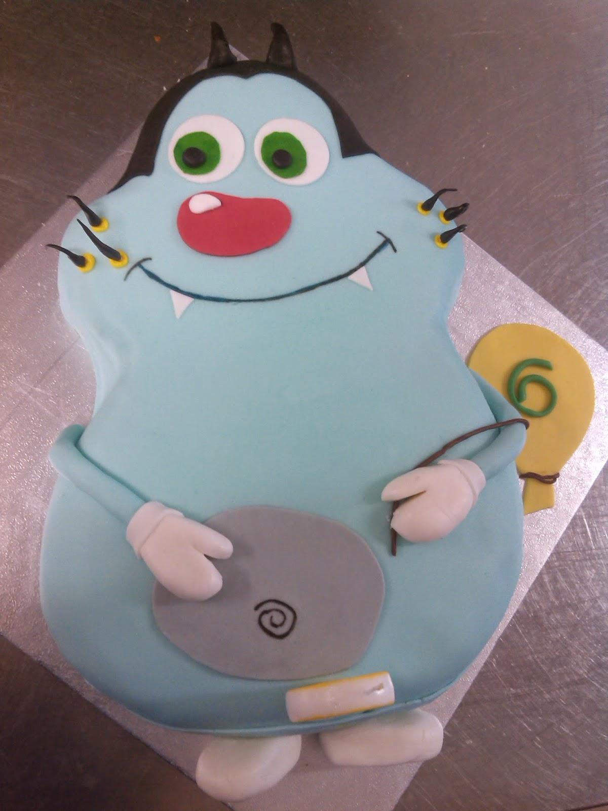 Super Le torte di Justyna: Torta Oggy e maledetti scarafaggi TL03