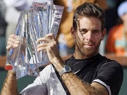 Spotlight : Del Potro Defeated Federer To Win Indian Wells Title