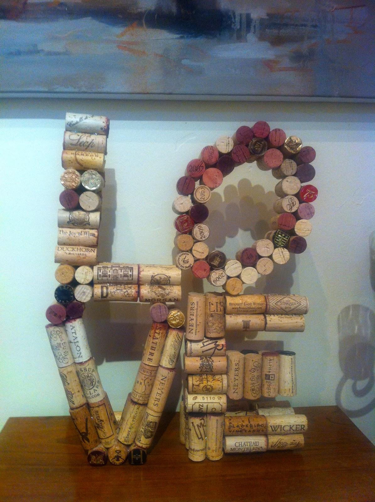 Decorella Wine Corks Repurposed