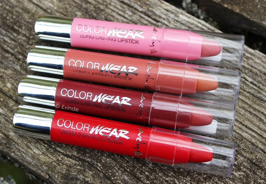 lovely color wear longlasting lipstick