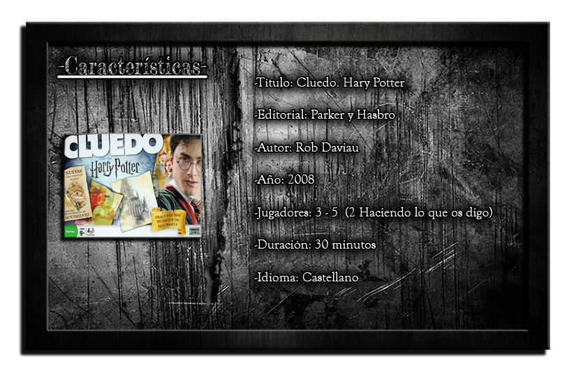 harry potter cluedo how to play