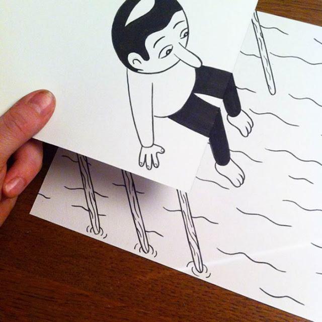 Arte dibujo 3d