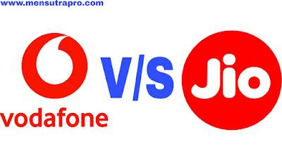 Jio vs Vodafone