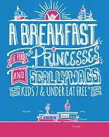 Pirates and Princesses Breakfast at the Hangout in Gulf Shores, AL.