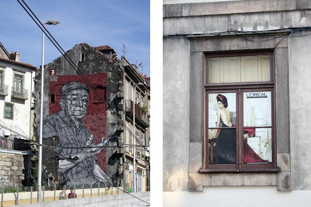 street art en Oporto