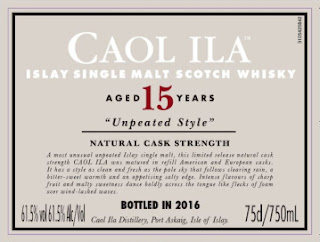 Caol ila 15 unpeated Special Releases 2016