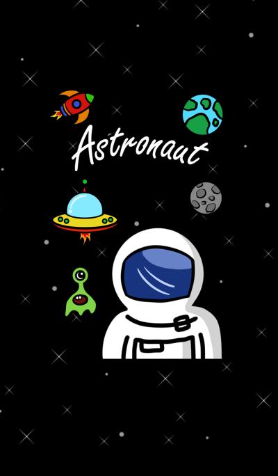 Astronaut galaxy
