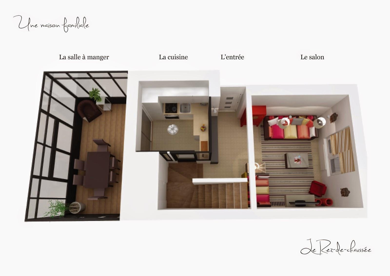 Adc l 39 atelier d 39 c t am nagement int rieur design d for Agencement maison 3d