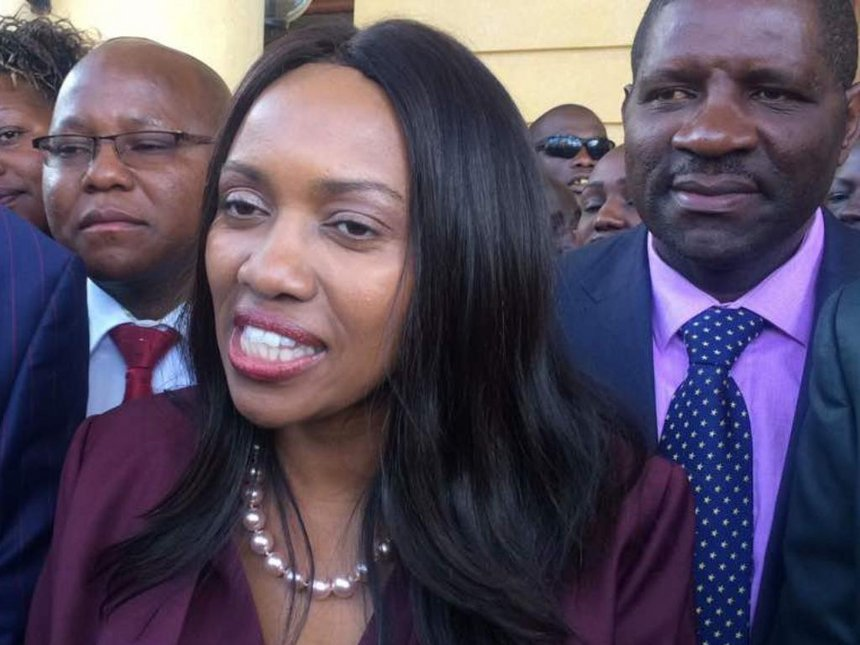 Susan Kihika Savagely Attacks Bahati MP Kimani Ngunjiri For Playing With Her Name