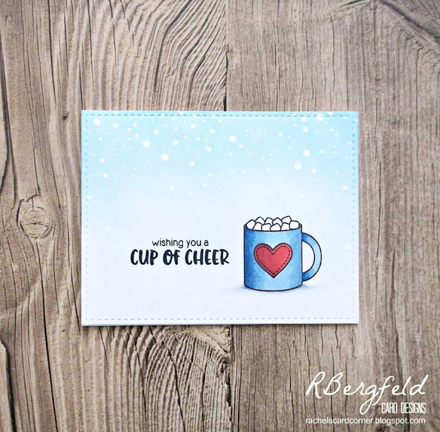 Sunny Studio Stamps: Mug Hugs Customer Card Share by Rachel Bergfeld