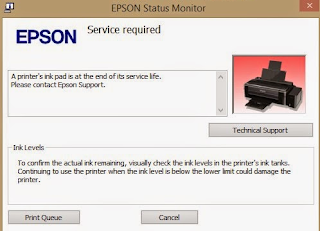 How to Reset Epson L365 Printers