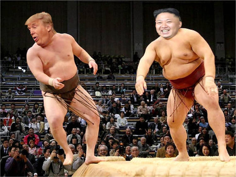 The India Satire: Donald Trump challenges Kim Jong-un in ...
