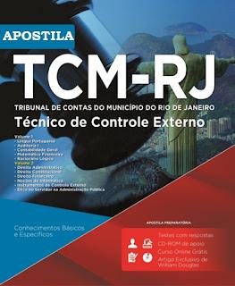 Apostila concurso TCM RJ - Técnico de Controle Externo