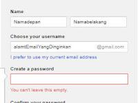 Membuat Gmail dan Yahoo