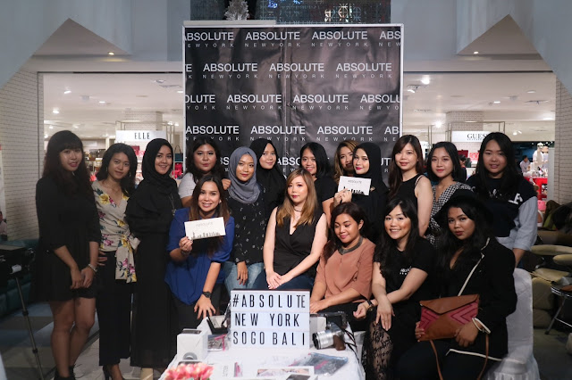 BALI BEAUTY BLOGGER AT ABSOLUTE NEW YORK OPENING IN SOGO, DISCOVERY SHOPPING MALL