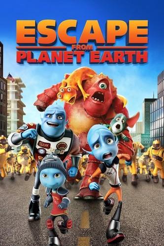 Escape Del Planeta Tierra (2013) [DVDrip Latino] (Animación)