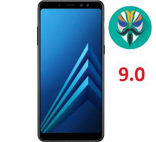 طريقة عمل روت لجهاز Galaxy A8 2018 Plus SM-A730F اصدار 9.0