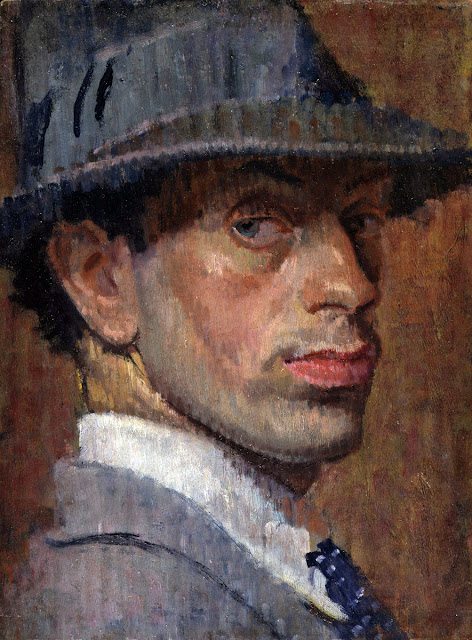 Isaac Rosenberg, Self Portrait, Portraits of Painters, Fine arts