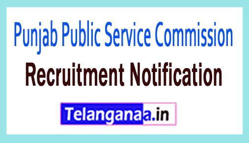 Punjab Public Service Commission (PPSC) Recruitment Notification
